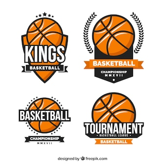 Pack basketbal stickers