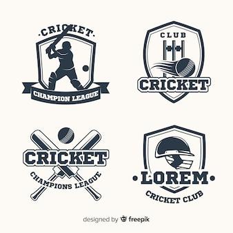 Pack cricket-etiketten