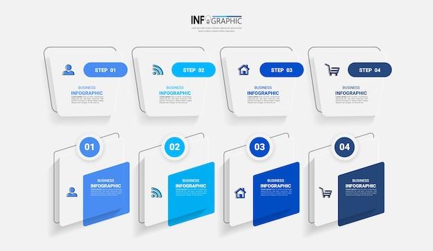 Pack van infographics element sjabloon