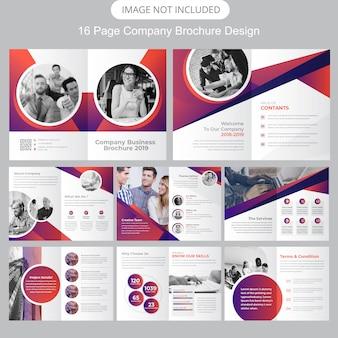 Pagina bedrijfsprofiel brochure