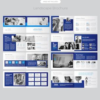 Pagina landschapsbrochure