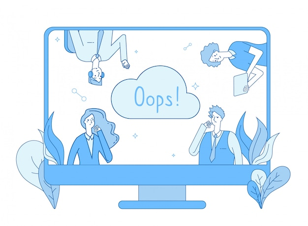 Pagina niet gevonden. computernetwerk foutwaarschuwingspagina verloren oeps foutbericht niet gevonden probleem website regel