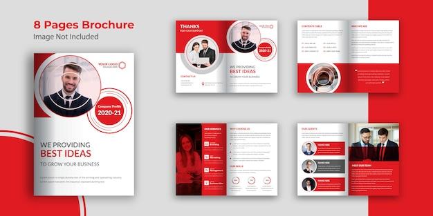 Pagina's bedrijfsprofiel brochure