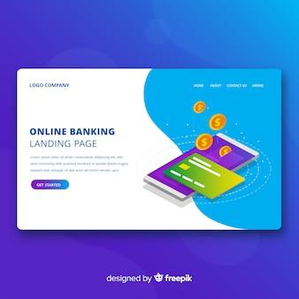 Pagina voor online bankieren