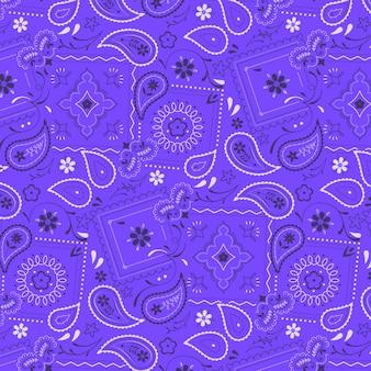 Paisley bandana-patroon