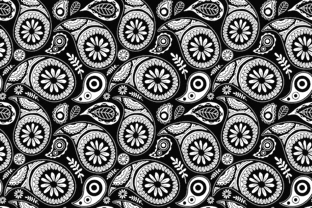 Paisley bandanapatroon