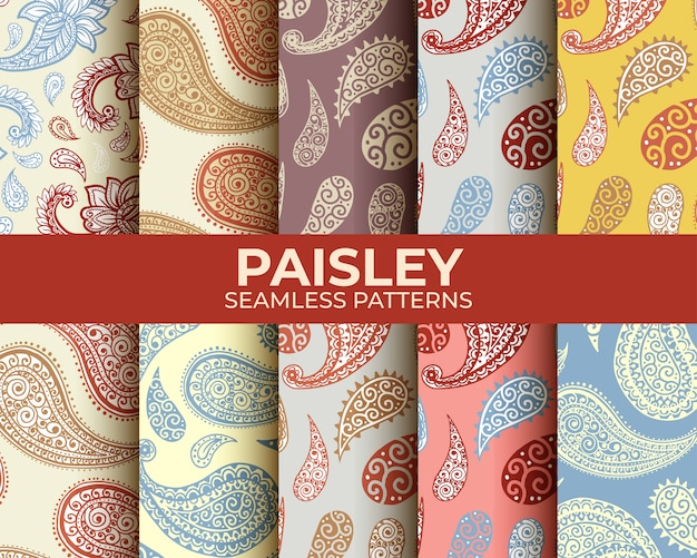 Paisley patroon set