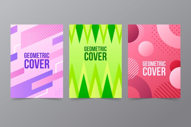 Pak abstracte geometrische covers