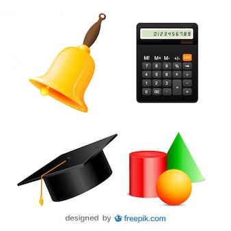 Pak afbeeldingen van geometrische figuren