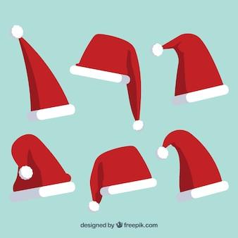 Pak hoeden van de kerstman