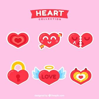 Pak met mooie harten