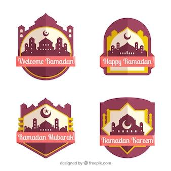 Pak moderne ramadan labels