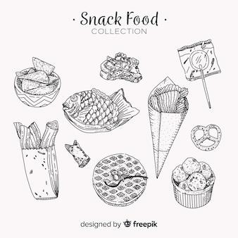 Pak smakelijke snacks