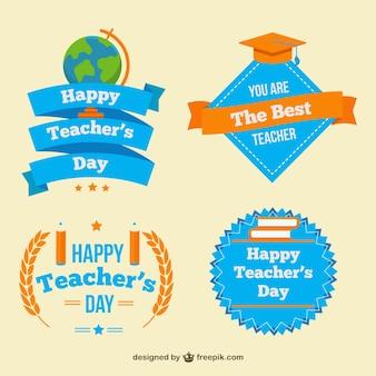 Pak van de dag vrij badges leraar