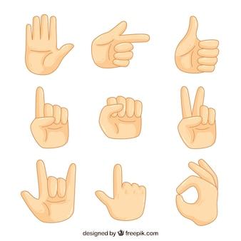 Pak van gebarentaal