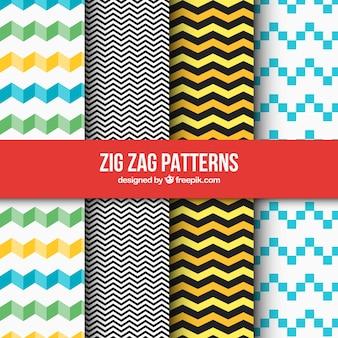 Pak van geometrische patronen