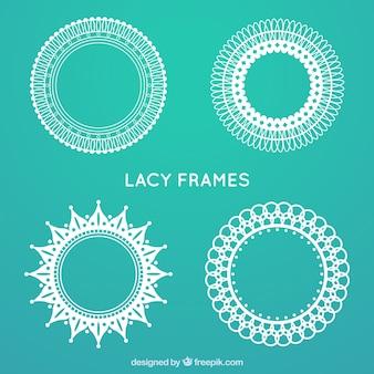Pak van kant ronde frames