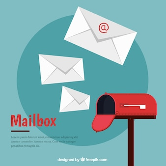 Pak van rode brievenbussen in isometrische stijl