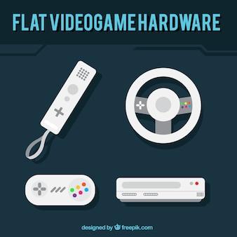 Pak van video game controllers