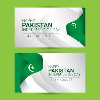 Pakistan onafhankelijkheidsdag sjabloon.