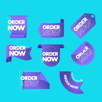 Pakje creatieve bestel nu stickers