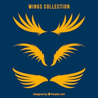 Pakje gele vleugels