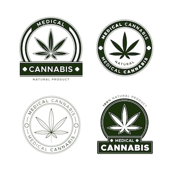 Pakje medicinale cannabisbadges