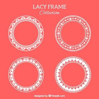 Pakje ronde kant frames