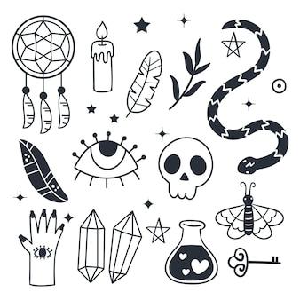 Pakket esoterische elementen