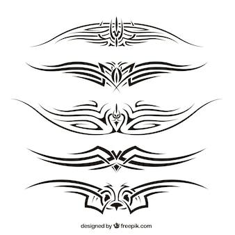 Pakket tribal tattoos