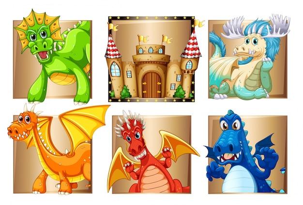 Paleis en vele draken