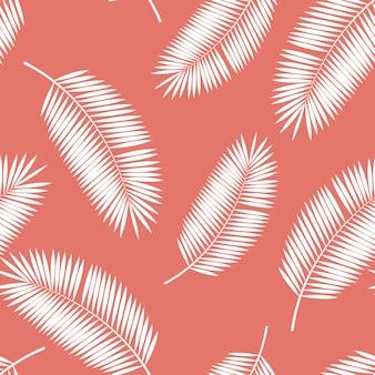 Palm leaf naadloze patroon