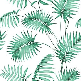 Palm naadloze patroon