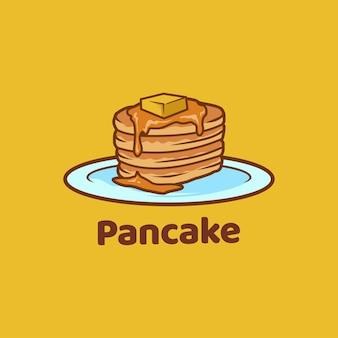 Pancake food zoete heerlijke bakkerij