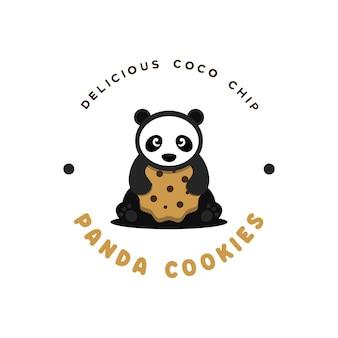 Panda cookies logo