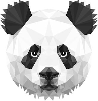 Panda hoofd