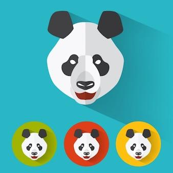 Panda ontwerpt collectie