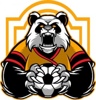 Panda soccer