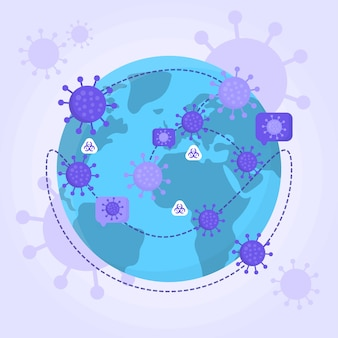 Pandemisch concept