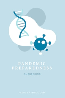 Pandemische illustratie