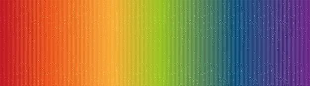 Panorama moderne kleurrijke technische achtergrond, hi-tech digitale en beveiligingsconceptontwerp, vrije ruimte voor tekst, vectorillustratie.