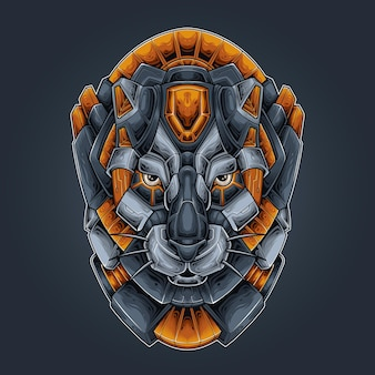 Panther head robotic
