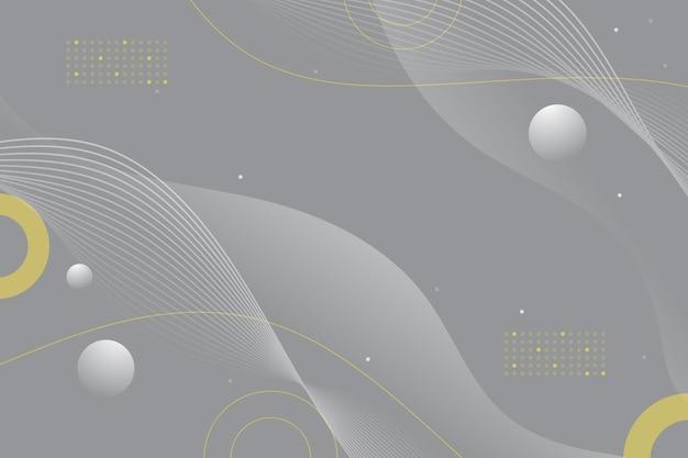 Pantone 2021 abstracte golvende achtergrond
