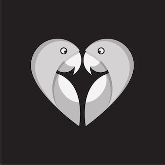 Papegaai liefde