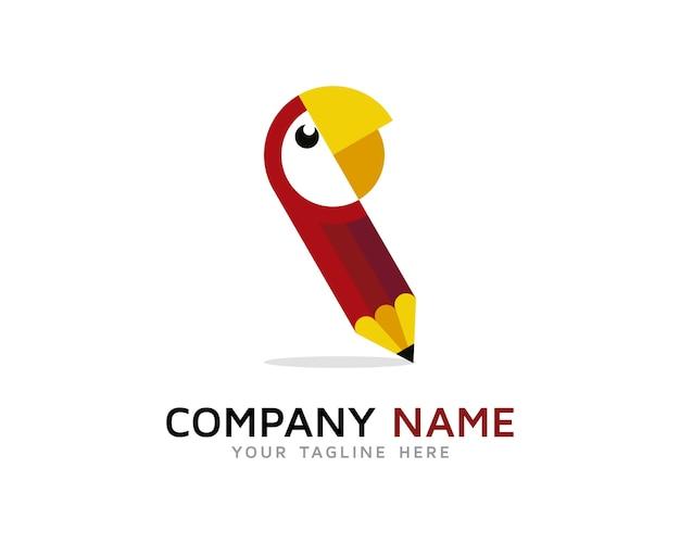 Papegaai pen logo