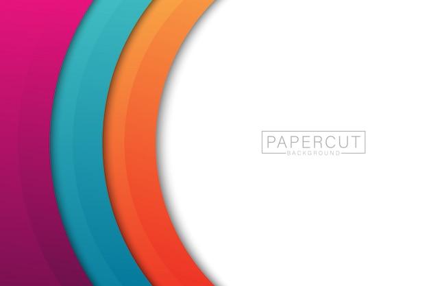 Papercut achtergrond