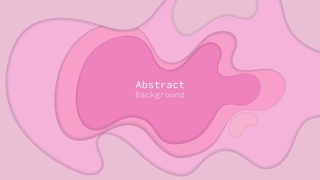 Papier gesneden achtergrond. abstracte achtergrond