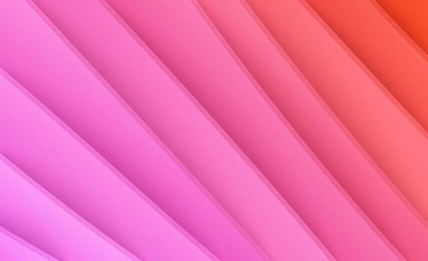 Papier gesneden achtergrond abstracte realistische papierdecoratie voor overgang van ontwerpgradiënt