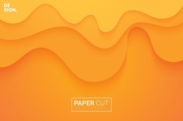 Papier gesneden achtergrond