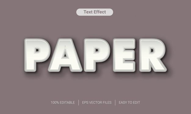 Papier gesneden met laag-tekststijleffect